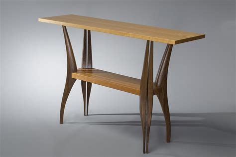 and tables gazelle table solid walnut and cherry wood table