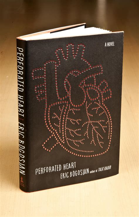 picture of a book cover perforated book digital graphic design inspiration