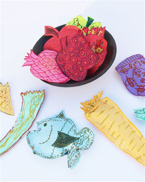 rosh hashanah craft projects crafts