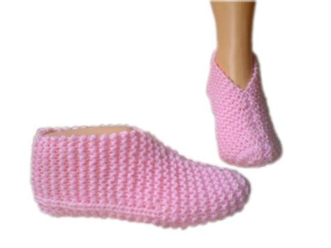 free knitted bed slippers patterns pattern for knitted slippers free knitting pattern