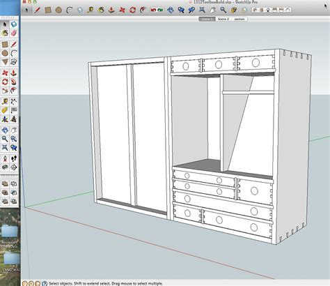 sketchup woodworking tutorials details and dimensions from a sketchup model popular