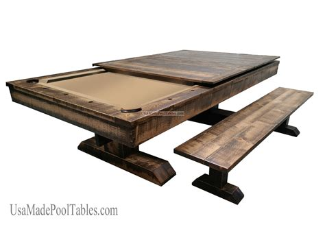 rustic pool tables rustic table rustic pool tables rustic dining table
