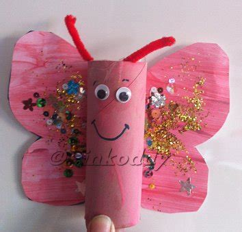 butterfly toilet paper roll craft butterfly for made from a toilet roll holder