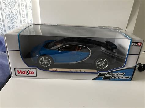 Bugatti Chiron Model Car by Bugatti Chiron Maisto 1 18 Diecast Model Car 163 45 00