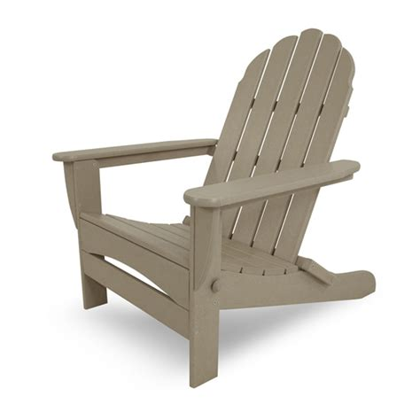 polywood outdoor furniture polywood 174 classic oversized curved back adirondack chair