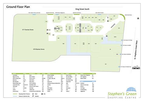 shopping centre floor plan centre floor plans stephens green shopping centre