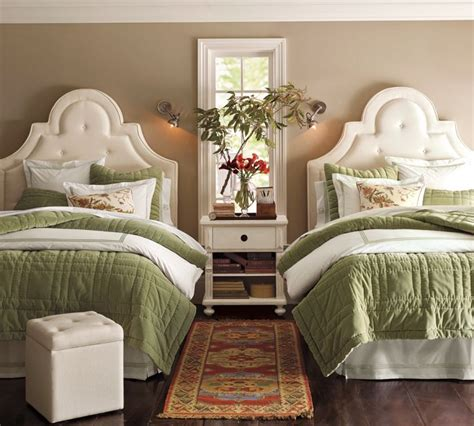 guest room with beds one room two beds ideas for guest rooms with bed