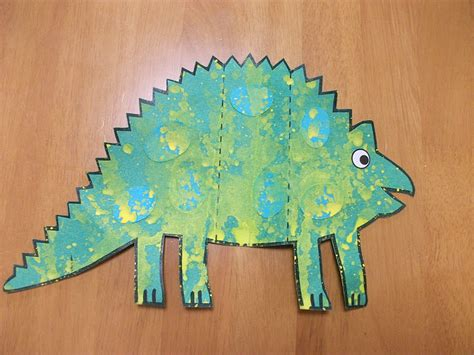 dinosaur crafts preschool crafts for dinosaur card craft