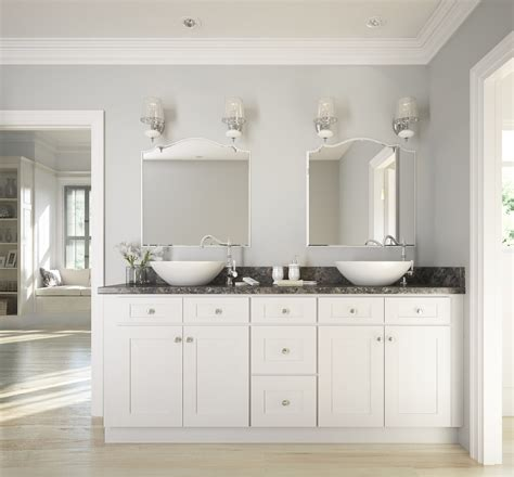 kitchen cabinets as bathroom vanity how to update your bathroom on a budget the rta store