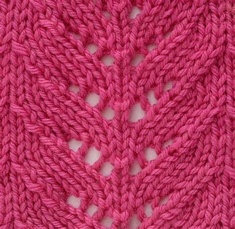 lace knitting stitch patterns shell lace pattern stitch knit stitches