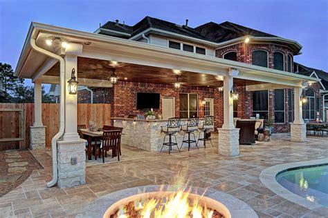 outdoor living spaces friendswood outdoor living space custom patios