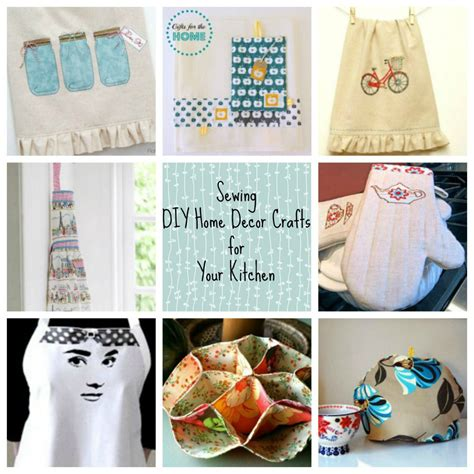 kitchen crafts for sewing diy home d 233 cor crafts for your kitchen
