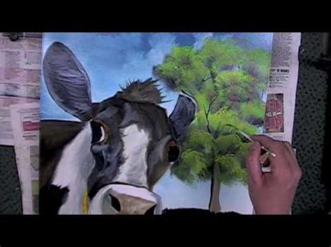 How To Paint A Tree Grass Using Paint With The Bob