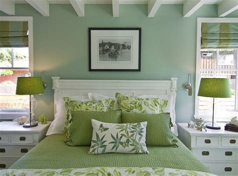 green bedroom ideas green design ideas for your home decorating with green