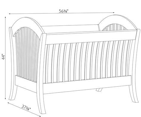 dimensions of a baby crib manhattan convertible crib amish traditions wv