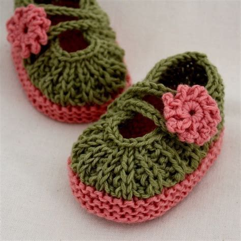 knitted booties knitting pattern pdf file baby booties 0 6 6 12