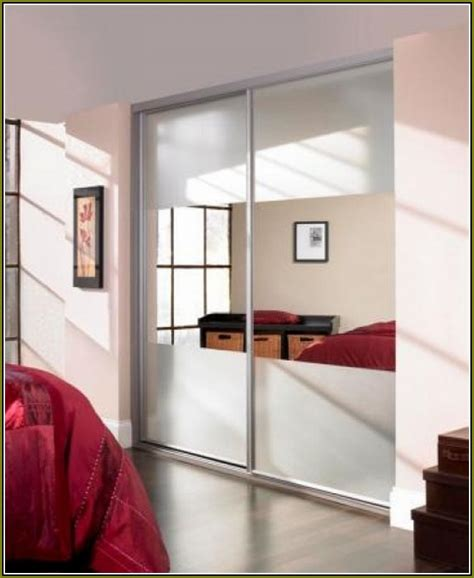 stanley mirrored closet doors mirrored closet sliding doors home design ideas