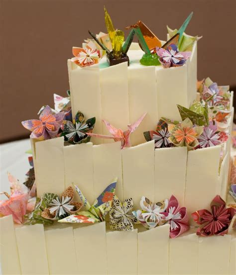 how to make a origami cake top origami cakes cakecentral