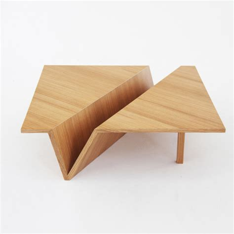 Origami Coffee Table Neatly Folded Furniture