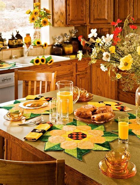 country kitchen theme ideas sunflower kitchen decor ideas for modern homes