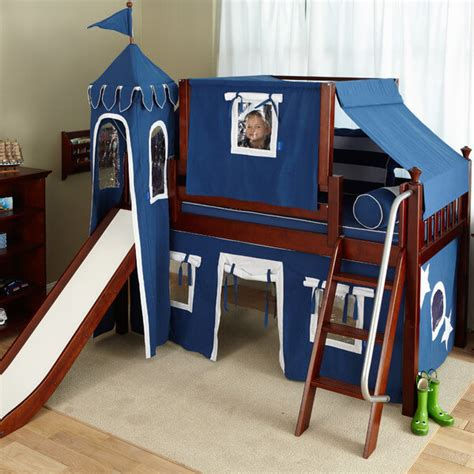 boy bunk bed with slide top 10 loft beds with slides