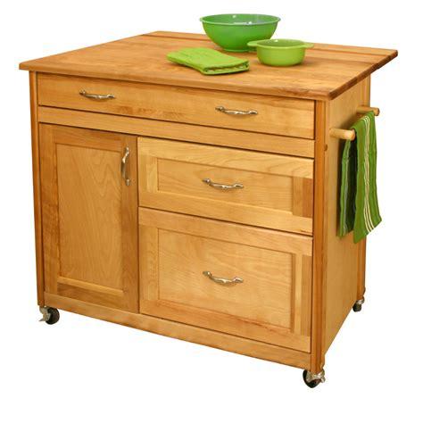 kitchen island carts kitchen island cart with drawers drop leaf