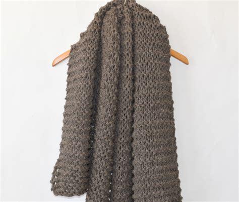 knit shawls big beginner knit shawl scarf pattern in a stitch