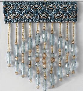 beaded fringe by the yard blue beaded fringe by the yard for draperies pillows and more
