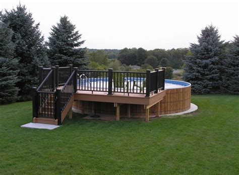 backyard deck designs plans above ground pool deck plans design ideas and useful tips
