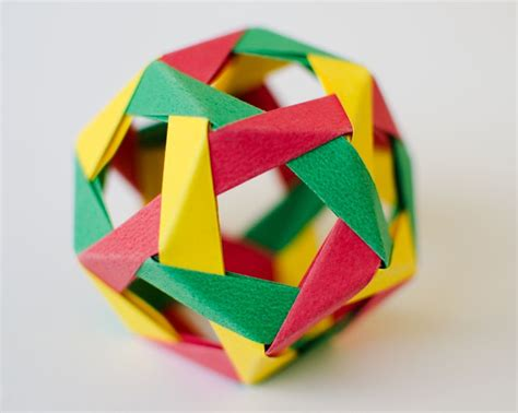 modular origami dodecahedron 10 best images about modular origami on