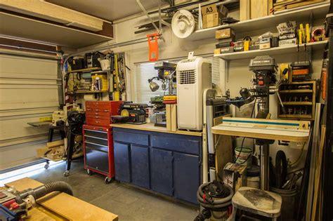 woodworking garage anthony s garage woodshop the wood whisperer