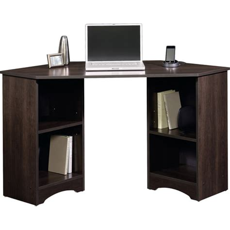 desk at walmart sauder beginnings traditional corner desk