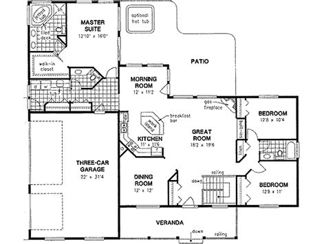 2 bedroom ranch floor plans 2 bedroom ranch house plans the benefits and styles house design and office