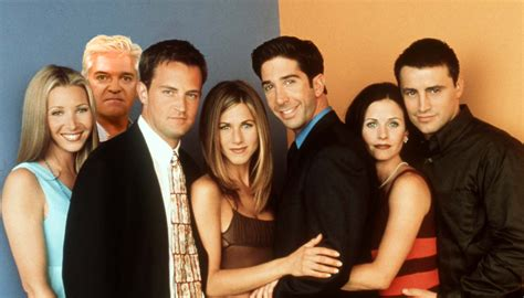 with friends phillip schofield was in friends he revealed all on this