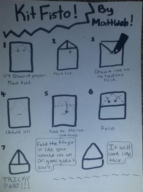 how to make origami kit fisto origami yoda kit fisto comot