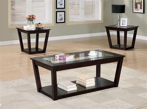 coffee table set black coffee table sets for unique your living spaces look