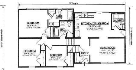 bi level home plans b147032 1 by hallmark homes bi level floorplan