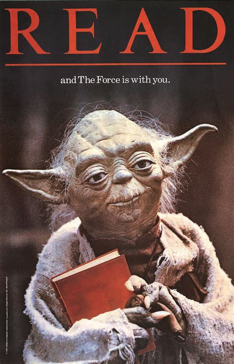 read fre 80s yoda poster still guilting us to read starwars