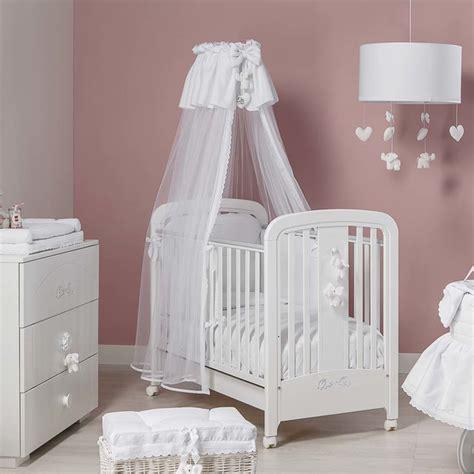 babi italia white crib italian baby nursery cot in white miro by picci modern