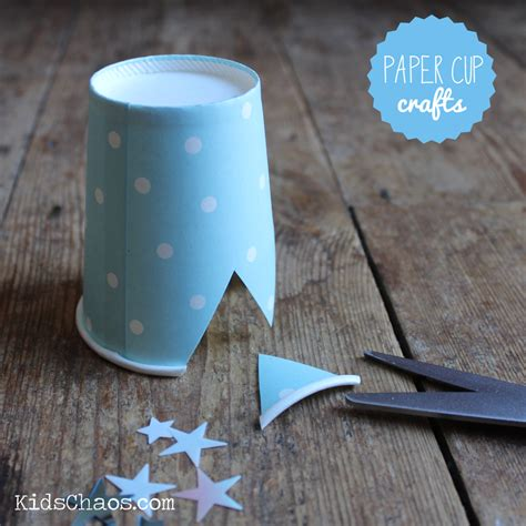 paper cup crafts for frozen crown craft paper cup craft kidschaos