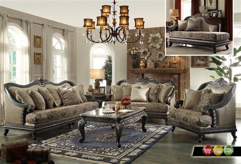 wood living room set traditional european design formal living room luxury sofa