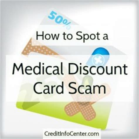 how to make health card how to spot a discount card scam