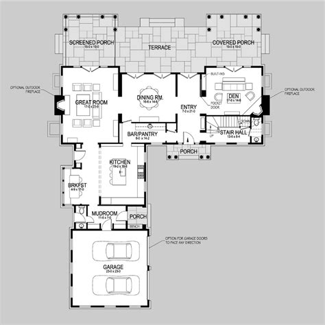 shingle style floor plans hedges shingle style home plans by david neff