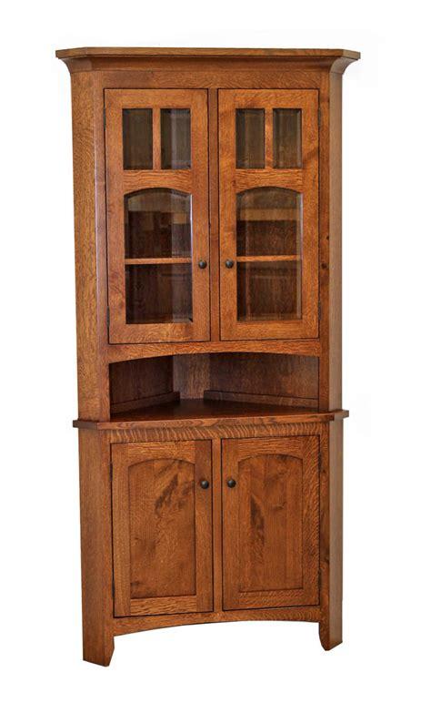 corner kitchen hutch furniture biltmore corner hutch craft furniture