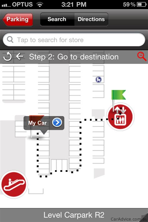 Best Find My Car Apps For Iphone by Westfield Iphone App Introduces Find My Car Parking