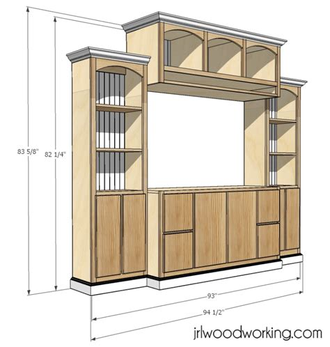 free entertainment center woodworking plans kdpn free woodworking plans entertainment center