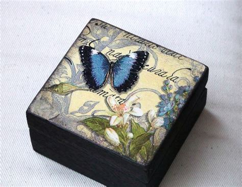 decoupage techniques ideas 17 best ideas about small wooden boxes on