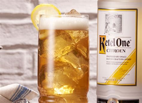 Ketel One Citroen Recipes by Citroen Beertail Recipe Vodka Drinks Ketel One Vodka