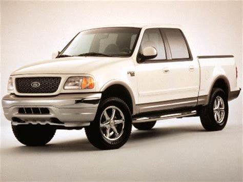 2002 ford f150 supercrew cab pricing ratings reviews kelley blue book