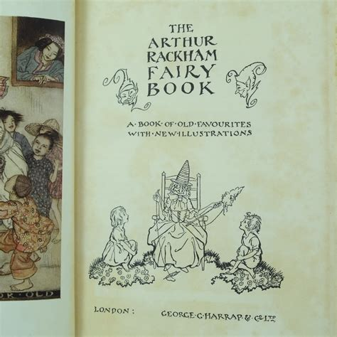 arthur rackham book of pictures the arthur rackham book limited and signed edition